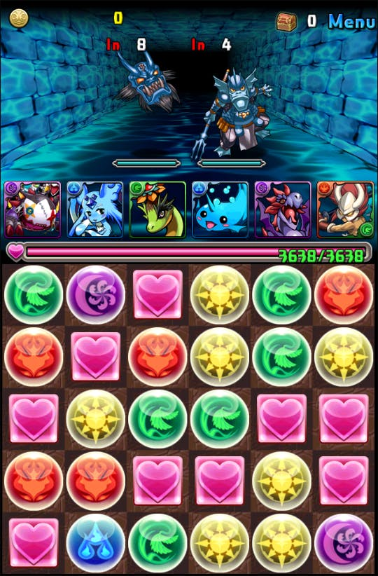 puzzle and dragons play store