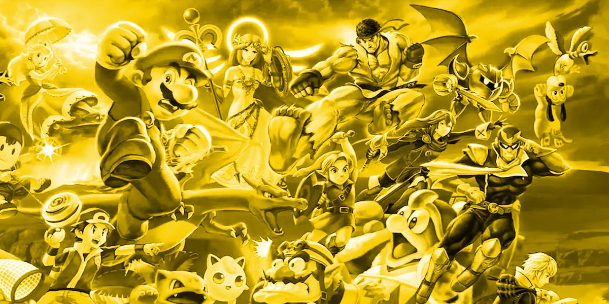 super smash bros ultimate character roster