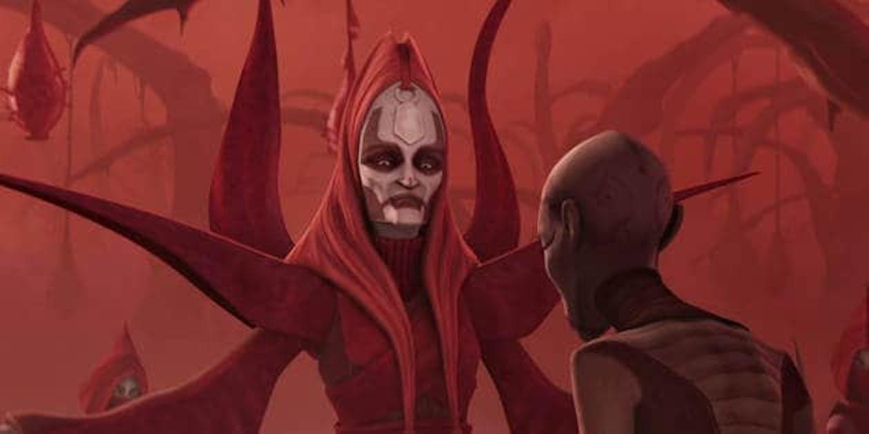 spooky mother talzin star wars clone wars