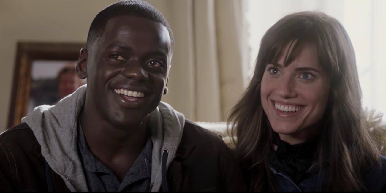 Daniel Kaluuya And Allison Williams In Get