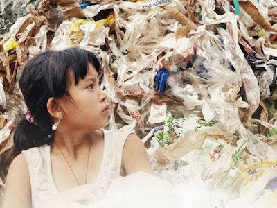 All Your Garbage Is Ruining This Little Girl's Life
