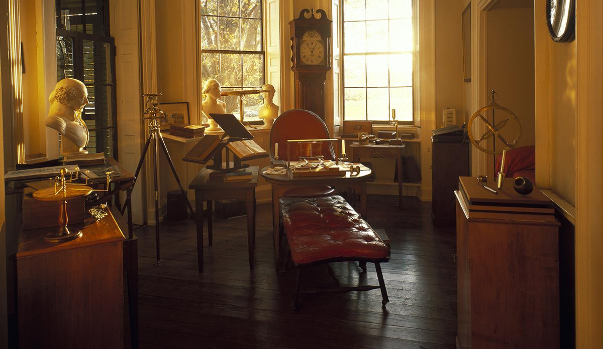 Jefferson's Cabinet (photo by Robert C. Lautner)