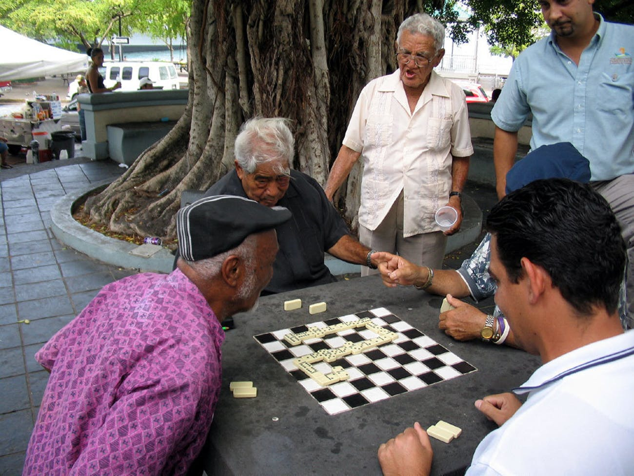 San Juan, P.R.: domino's, a national pastime