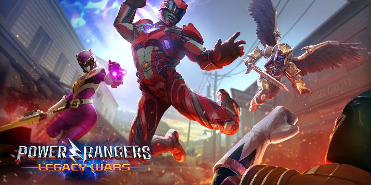 Power Rangers Movie Game