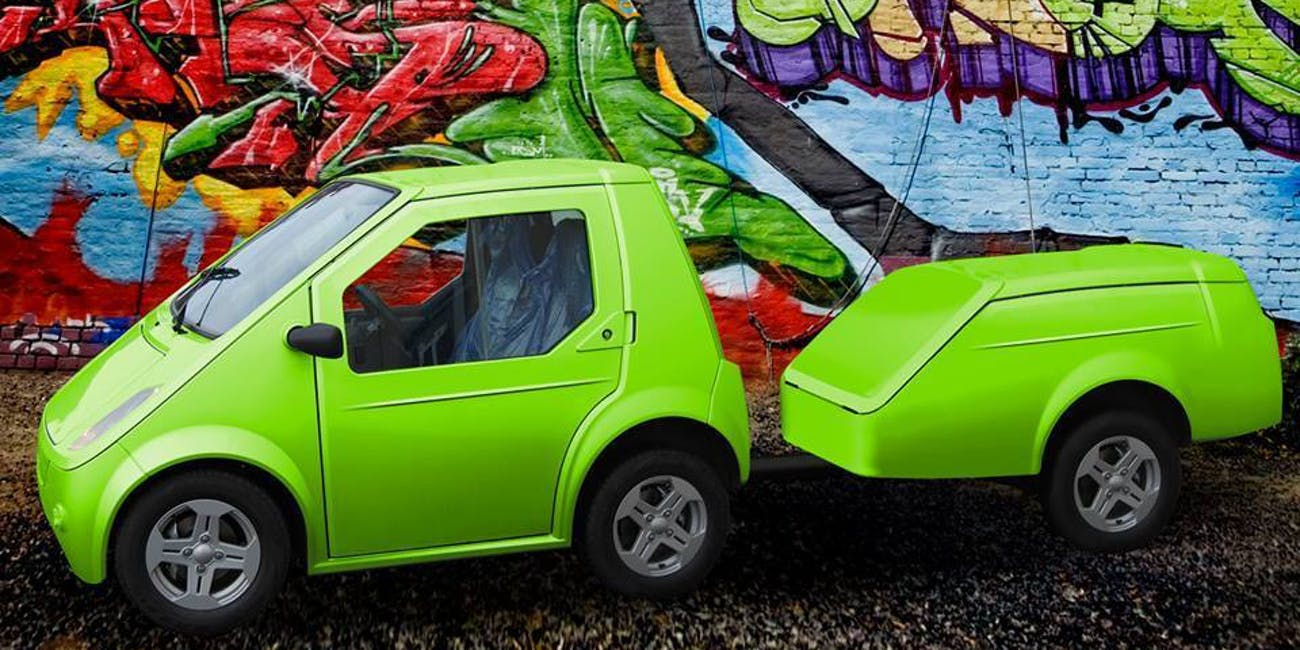 The Future Of Urban Electric Cars Is Adorable