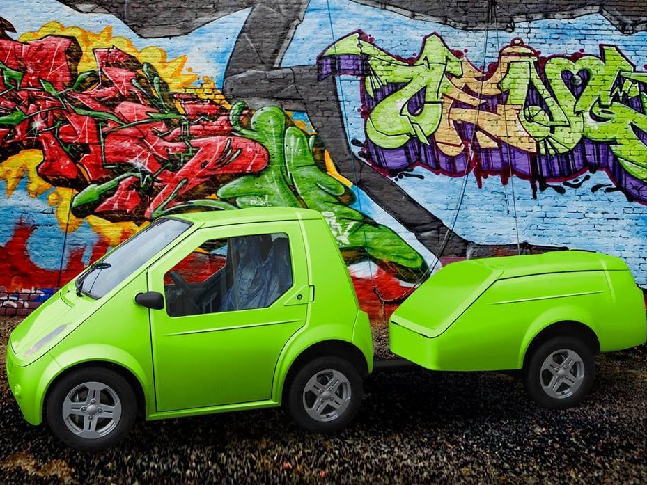 The future of urban electric cars is adorable.