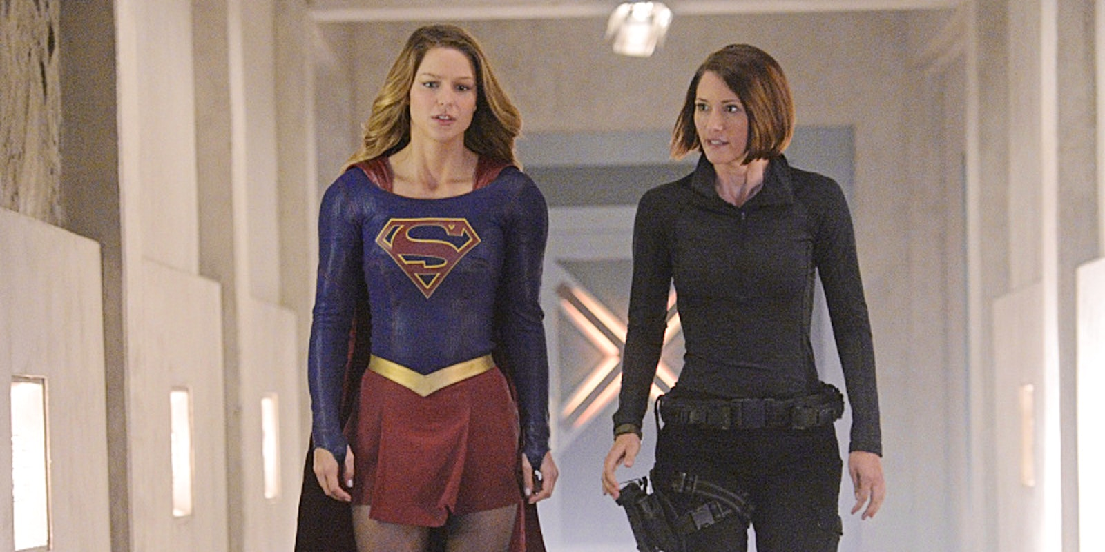 Supergirl with Lena Luthor