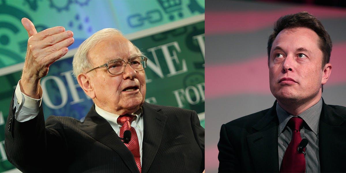 Warren Buffett Downplays His Battle With Elon Musk In