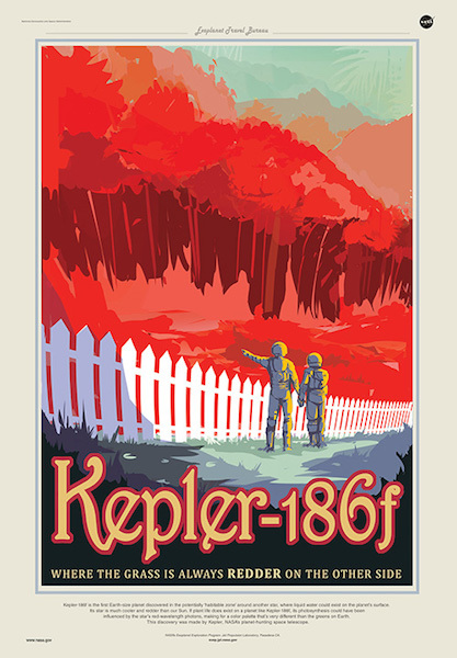 """Kepler-186f is the first Earth-size planet discovered in the potentially 'habitable zone.'"""