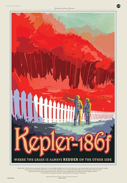 """""""Kepler-186f is the first Earth-size planet discovered in the potentially 'habitable zone.'"""""""