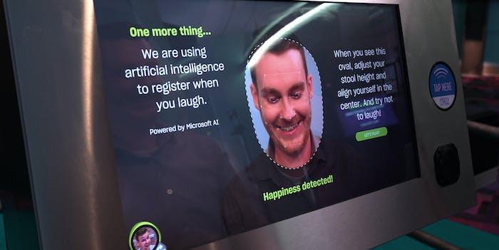 Microsoft Laugh Battle AI