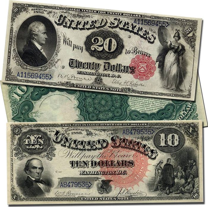Greenbacks 1880