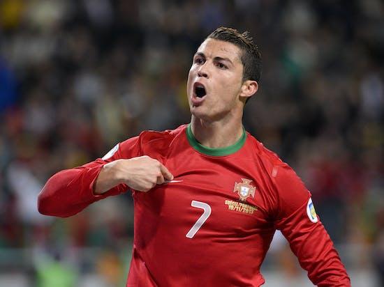 ronaldo world cup goal russia morocco