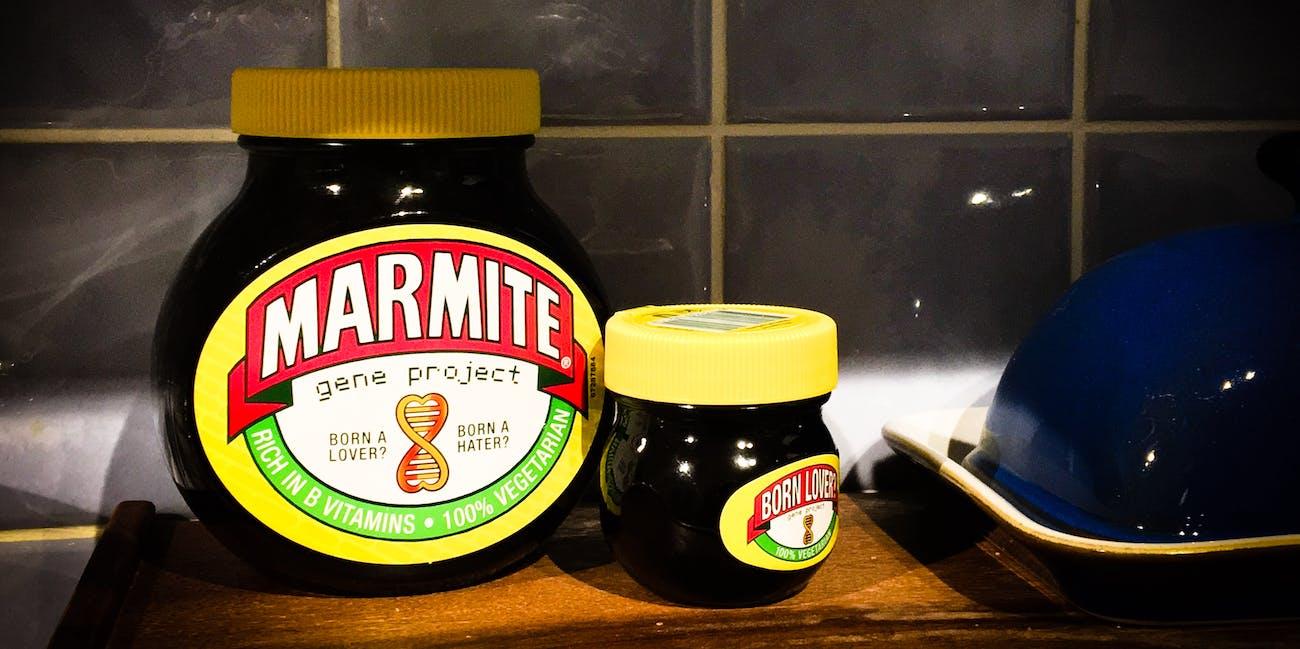 Father and son marmite...