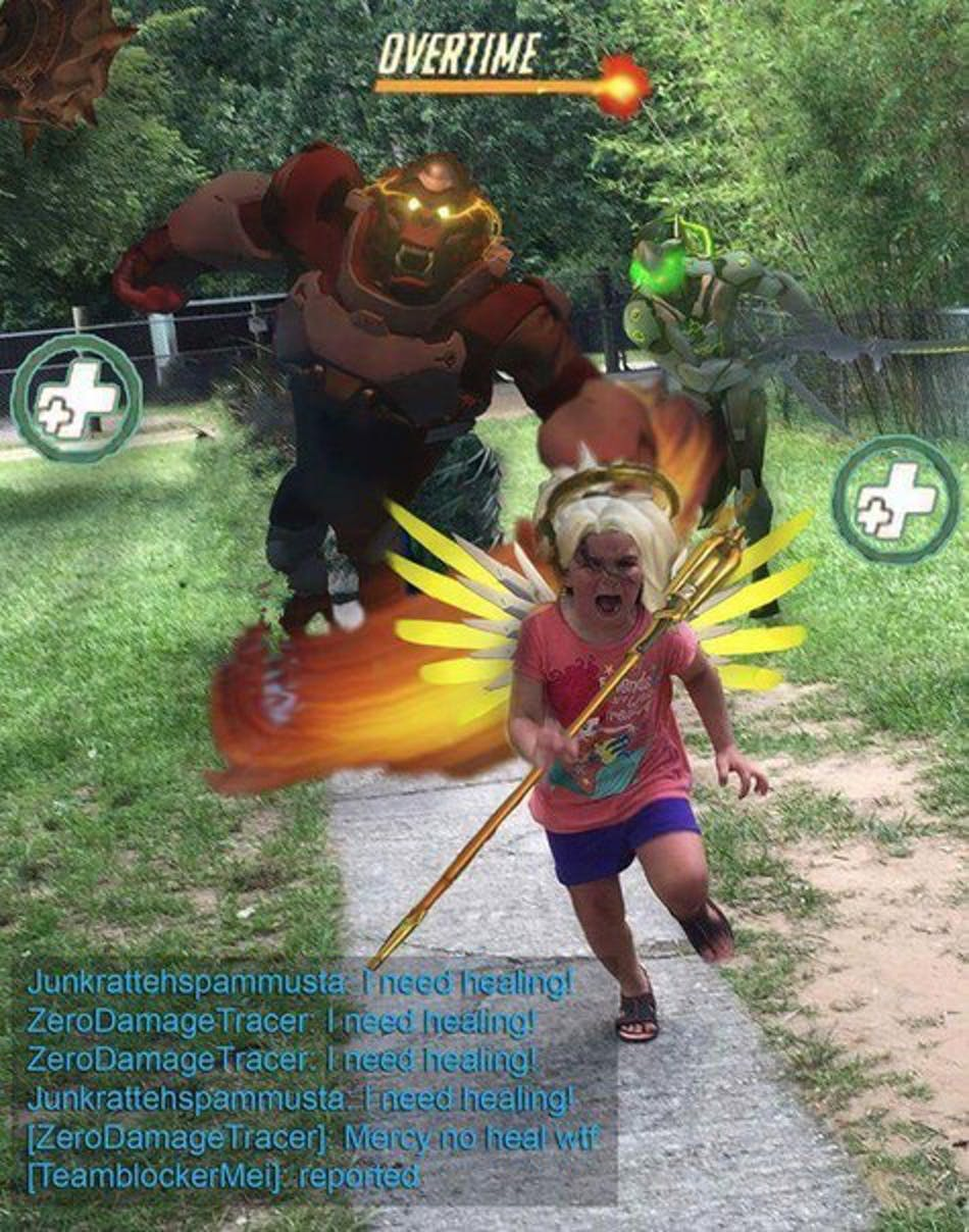 Overwatch Blizzard Entertainment Support Player
