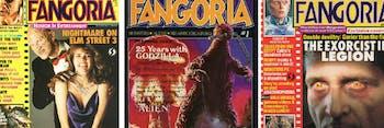 'Fangoria' covers
