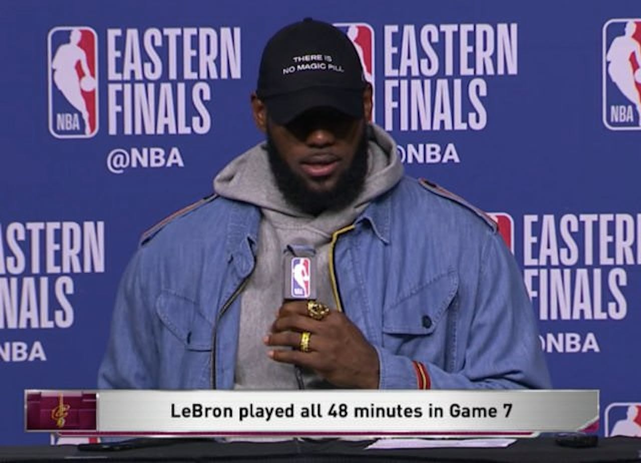 Lebron James There is No Magic Pill