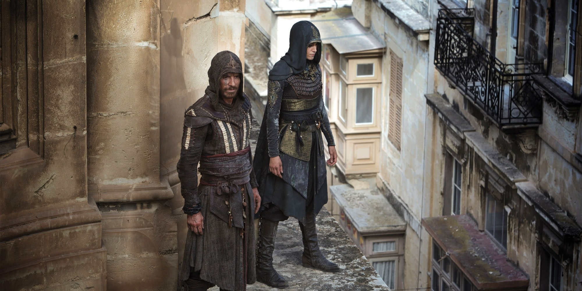 Watch an 'Assassin's Creed' Stuntman Freefall 125 Feet