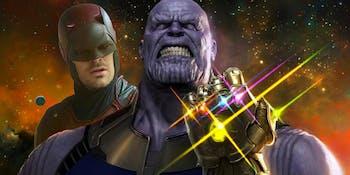 Daredevil Is in Infinity War, kind of