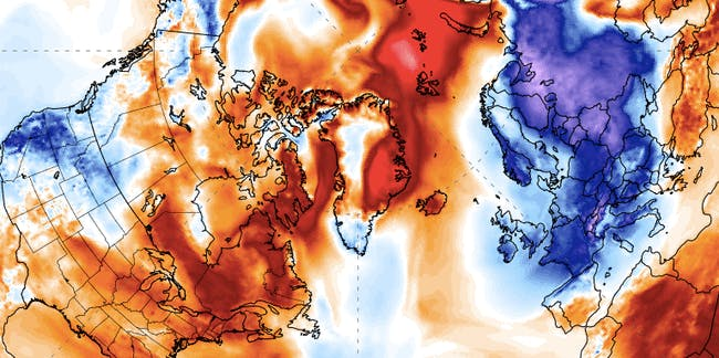Weather, cold, North Pole, Europe