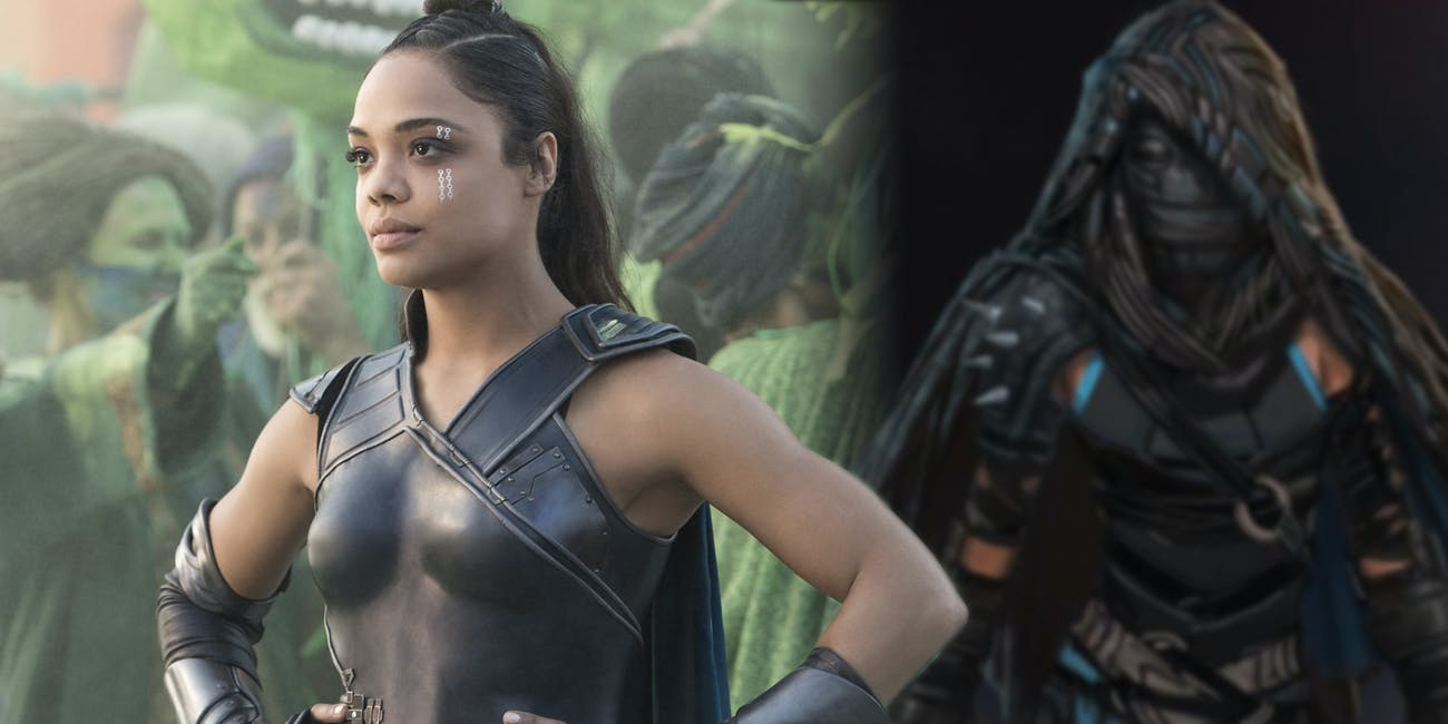 Thor Ragnarok Concept Art Shows Valkyrie Looking Very -8909