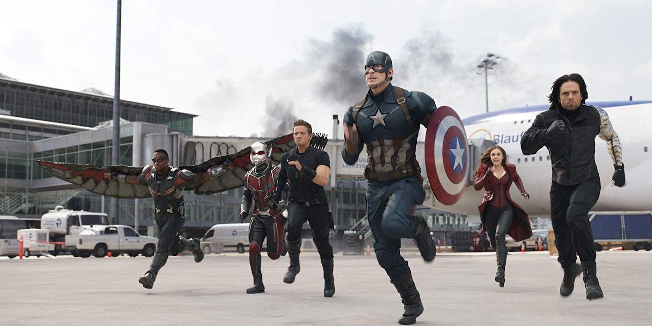 Still from 'Captain America: Civil War'