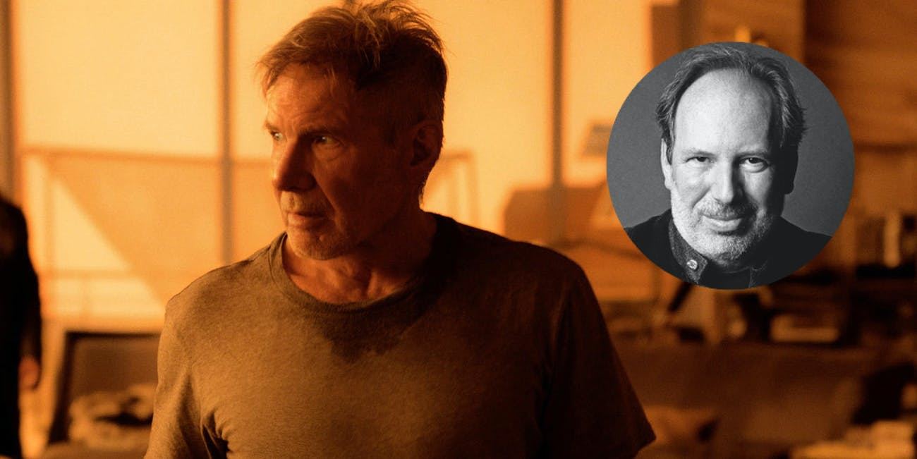 Hans Zimmer will assist with the film score in 'Blade Runner 2049'.