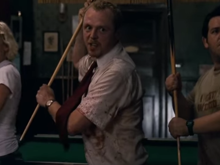 Analyzing the 'Shaun of the Dead' Beatdown Scene Set to 'Don't Stop Me Now'