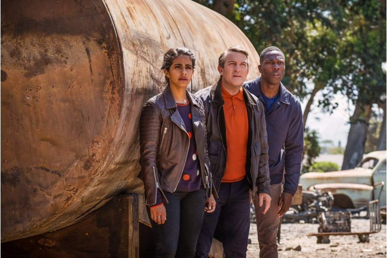 The Doctor's new companions in Season 11 of 'Doctor Who'.