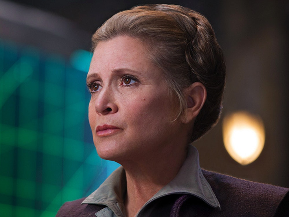 General Leia's part needs to be rewritten in Episode IX