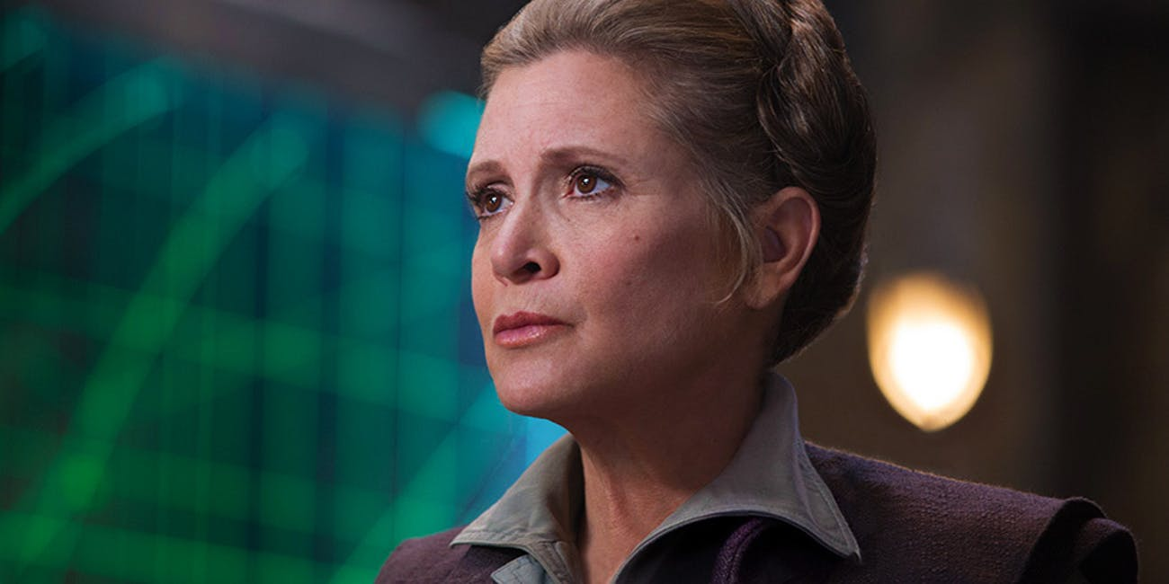 General Leia's part needs to be rewritten in Episode IX