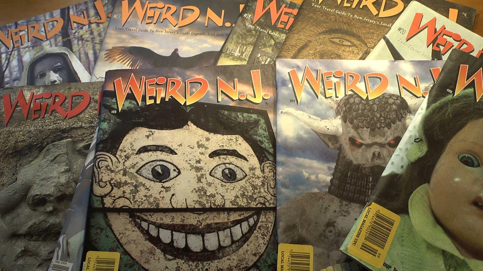 Weird New Jersey Book 5