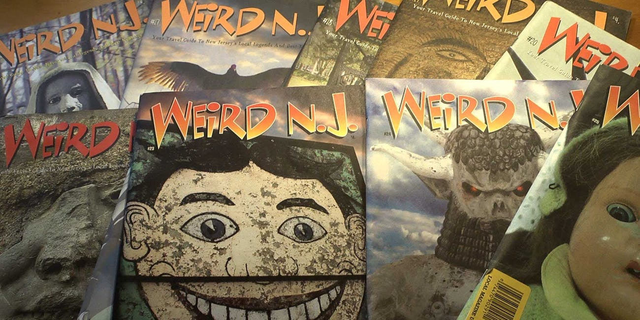 Weird New Jersey Magazine Subscription 11