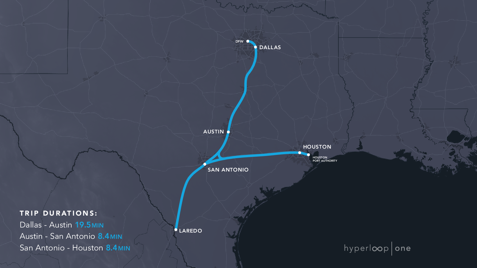Here are the 11 Proposed Hyperloop