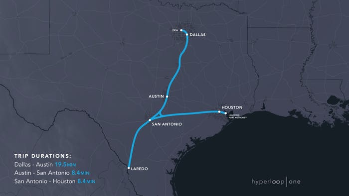 Distance between San Antonio, TX and Houston, TX