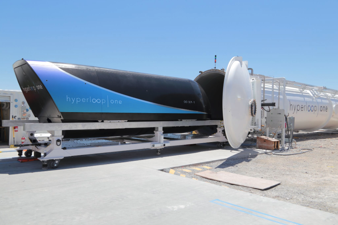 Hyperloop One Hits Milestone in Test: 192 miles per hour