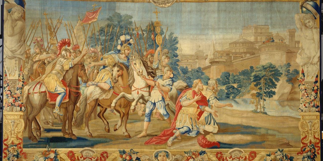 crusaders, painting