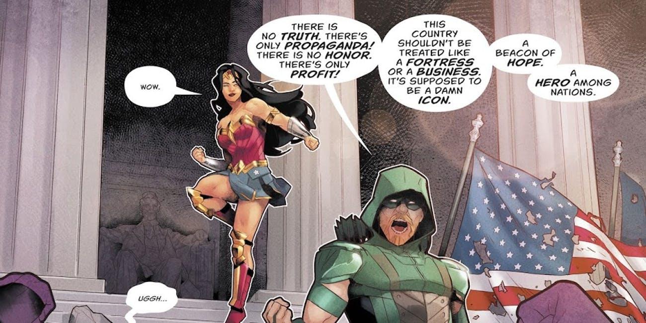 Green Arrow DC Rebirth