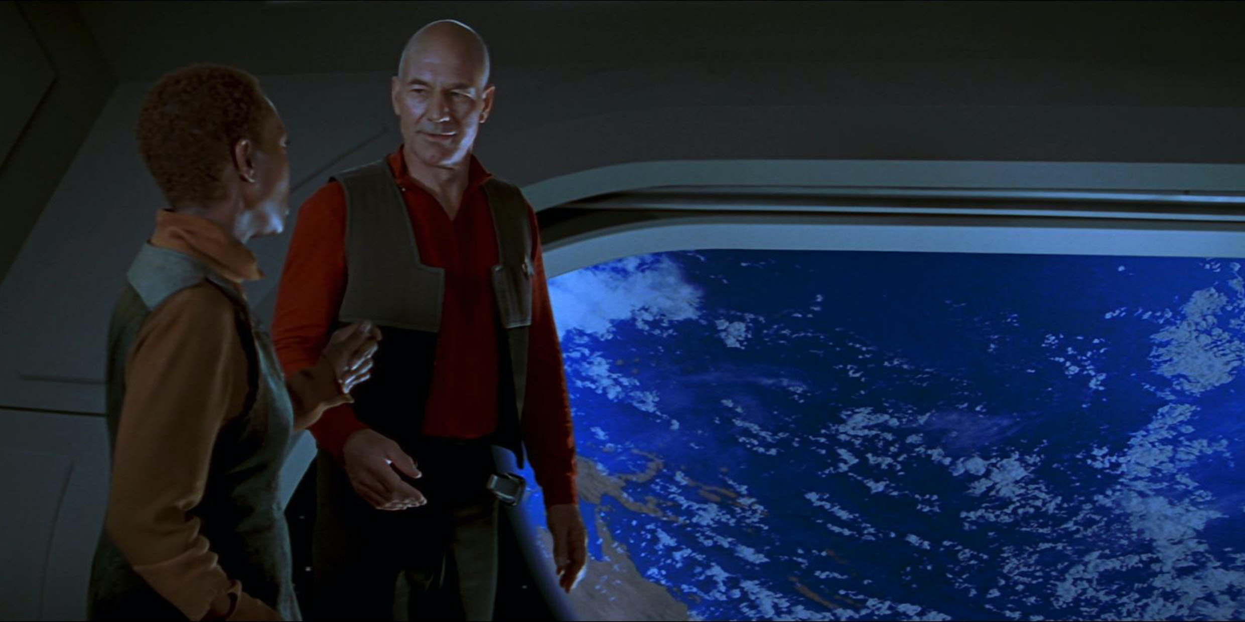 Captain Picard explains the future of the economy in 'Star Trek: First Contact'