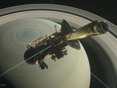 NASA Imagines What Cassini's Noble Death Will Look Like