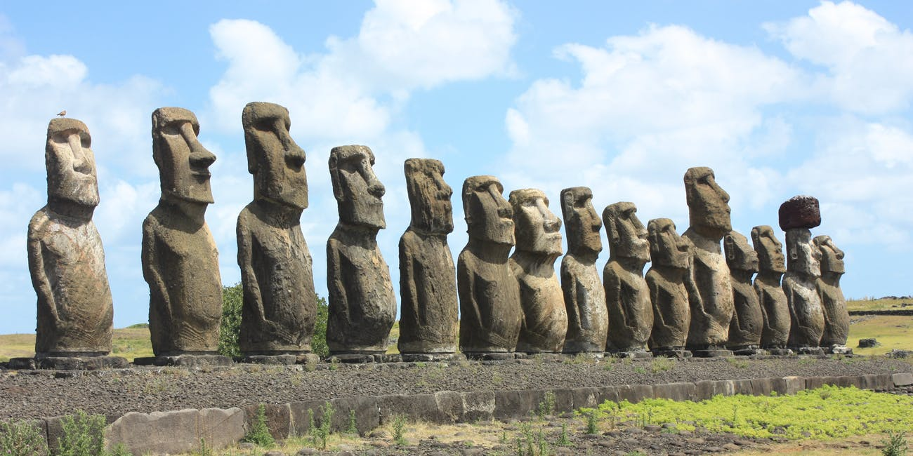 Giant stone hats reveal secrets of easter island inhabitants inverse