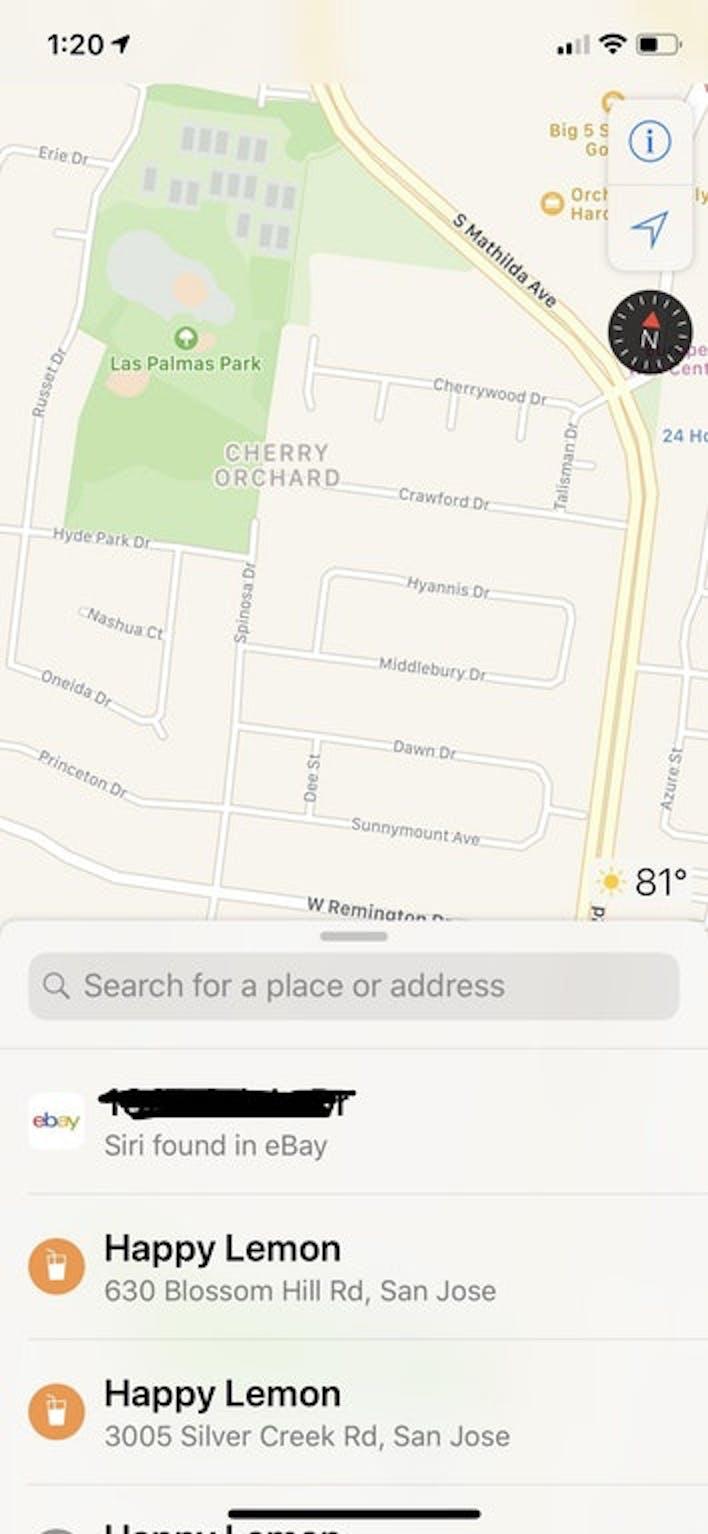 reddit apple maps ios 12 siri