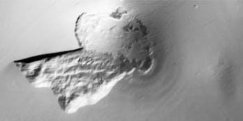 mars water ice