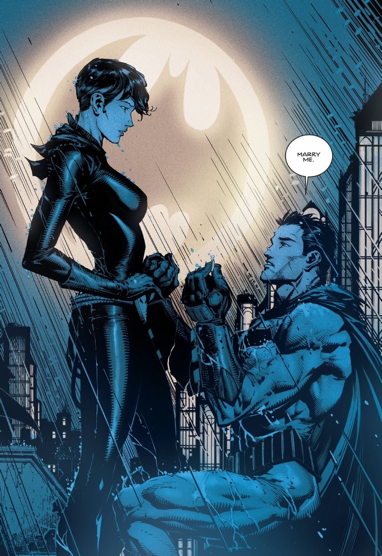 Batman Tom King Catwoman Marry