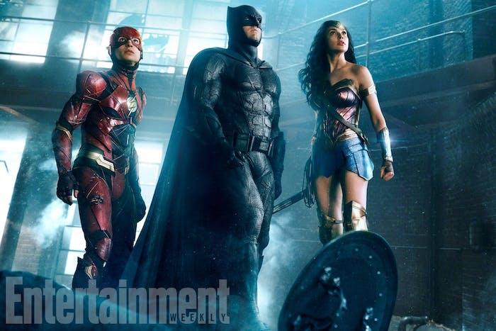 Justice League Flash Wonder Woman