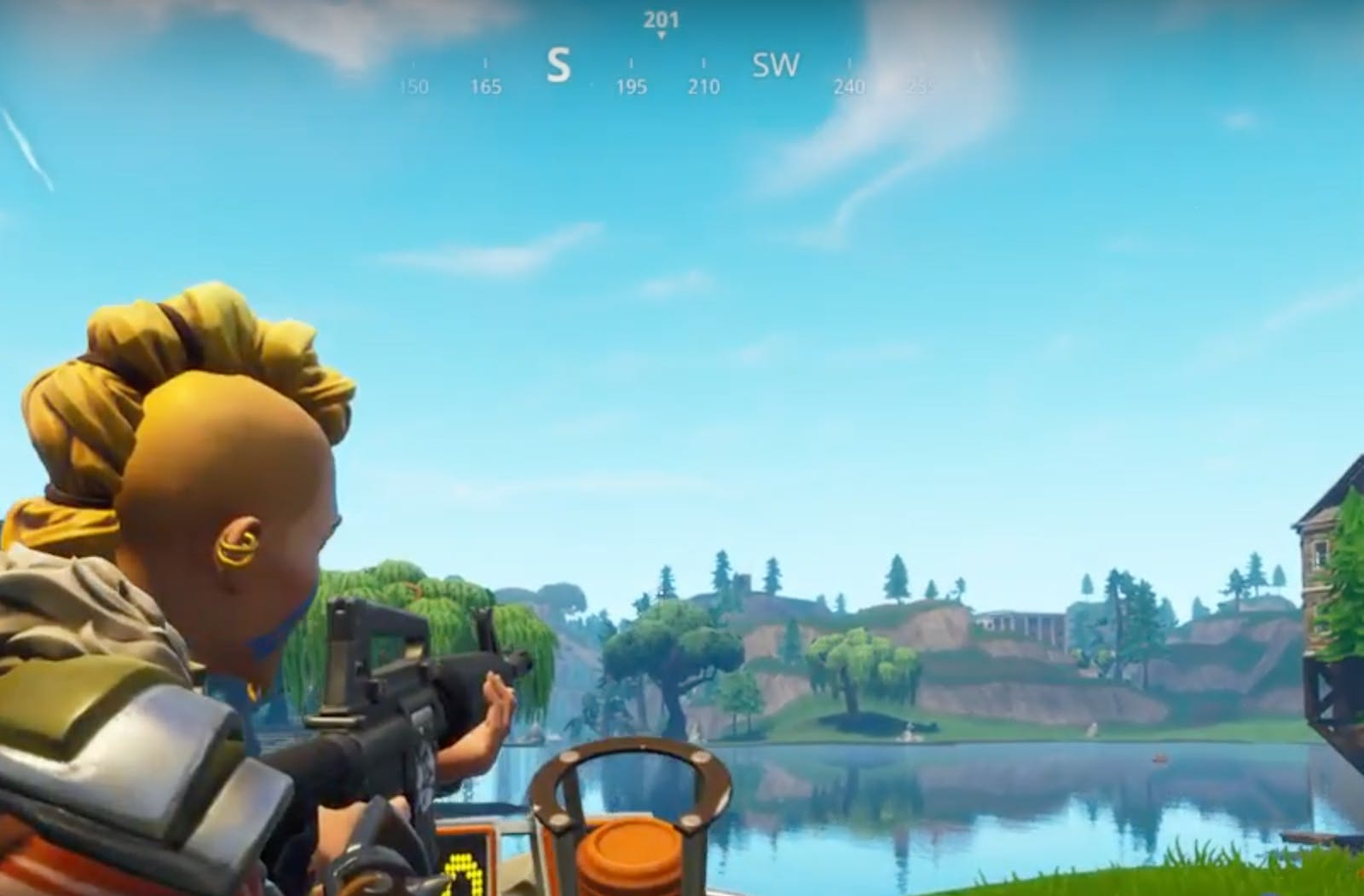 Fortnite Clay Pigeons Locations Map Where To Find 5 Skeet Shooters