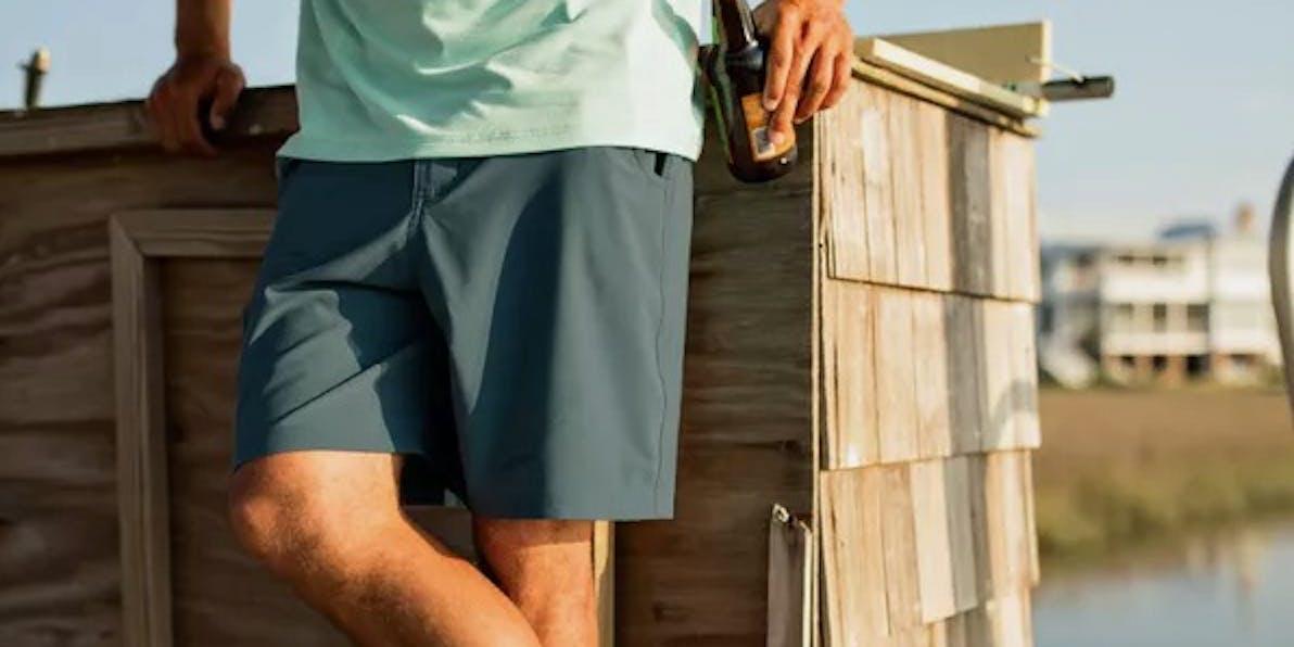 "Free Fly Bamboo-Lined Hybrid Shorts - 7.5"""