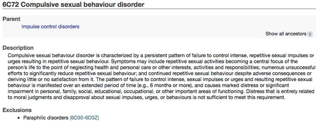 Why Compulsive Sexual Behavior Disorder Isnt The Same -5634