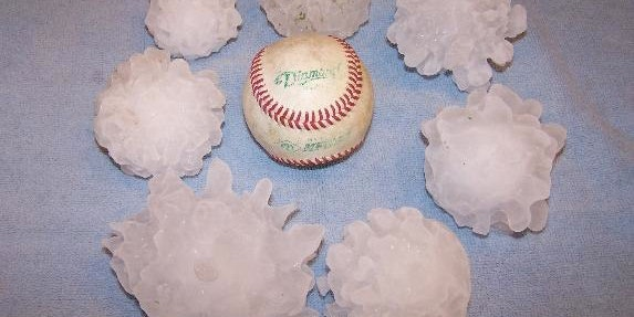 Why a Softball-Sized Hail Season May Hint at Weather Trouble to Come