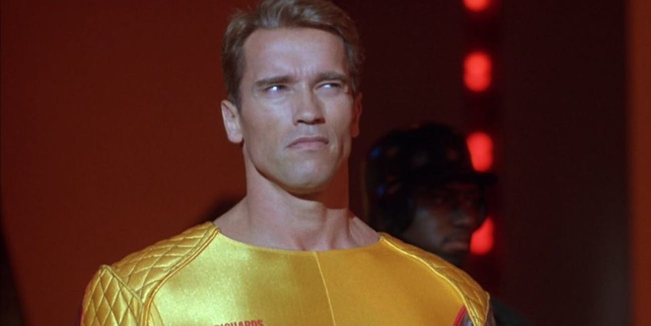 Movies set in 2017 like 'The Running Man'